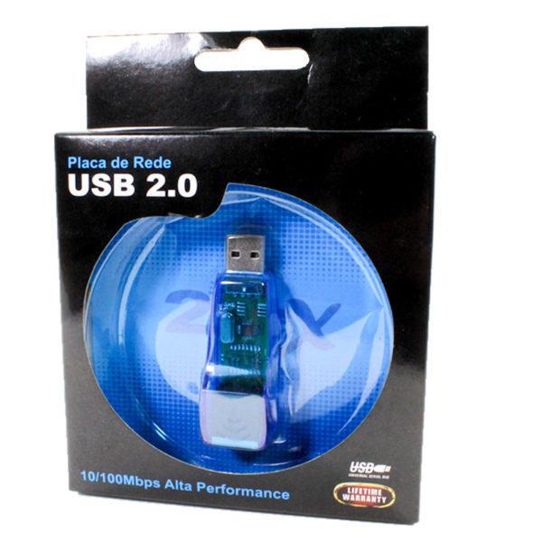 Adaptador USB Rede