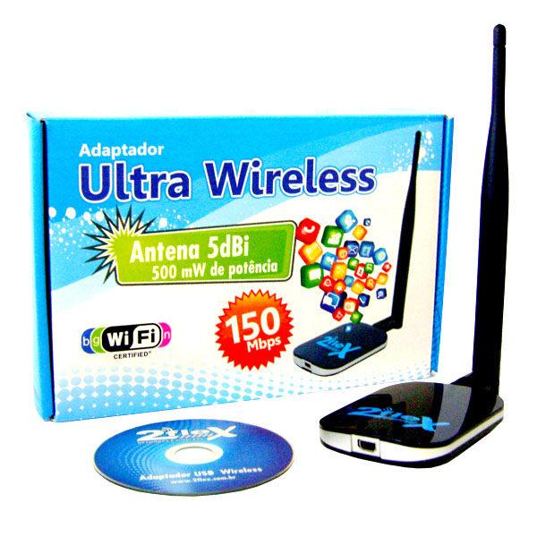 adaptador ultra usb wireless