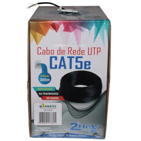 Cabo de Rede CaT5e 4 pares 2flex