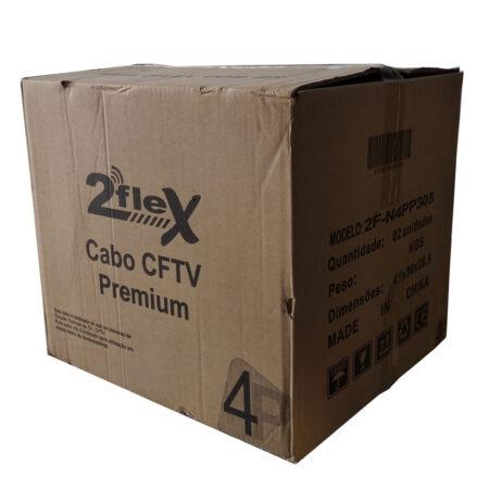 Cabo CFTV PREMIUM 4 Pares