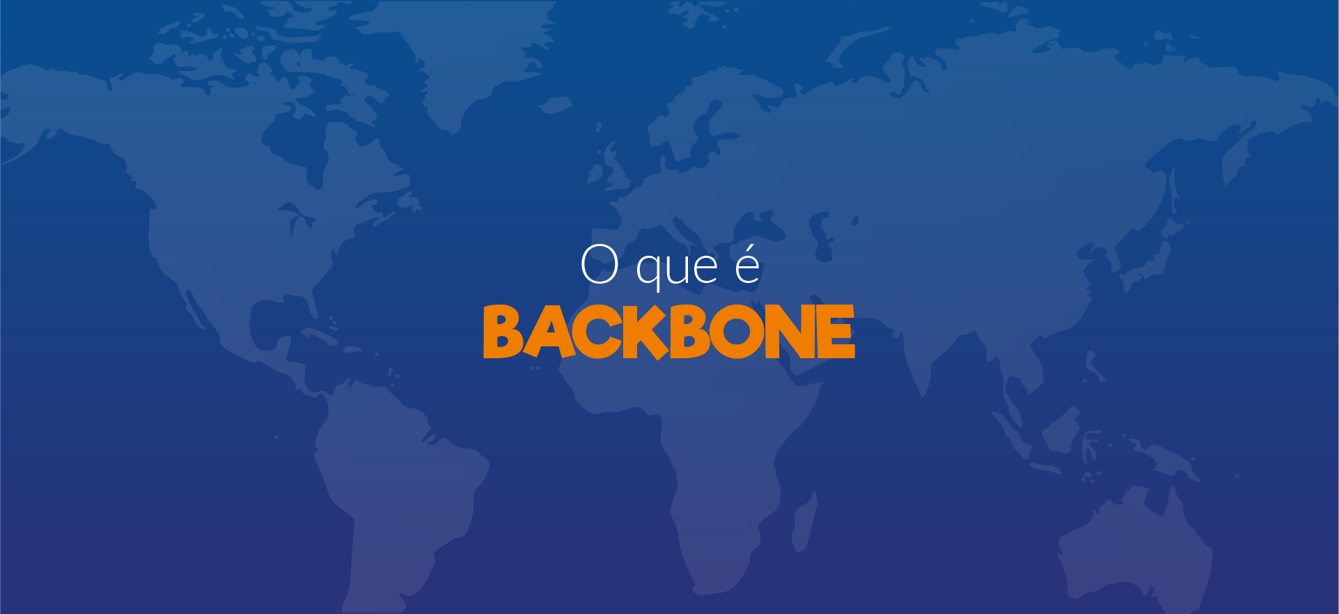 Você sabe o que é Backbone?