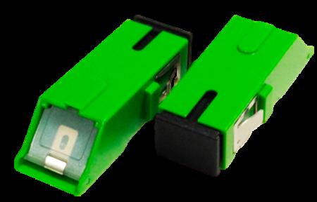 Adaptador Óptico SC-APC com Shutter 2flex telecom